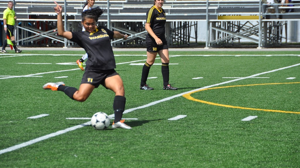 Women's soccer draw with Windsor, shutout by Western