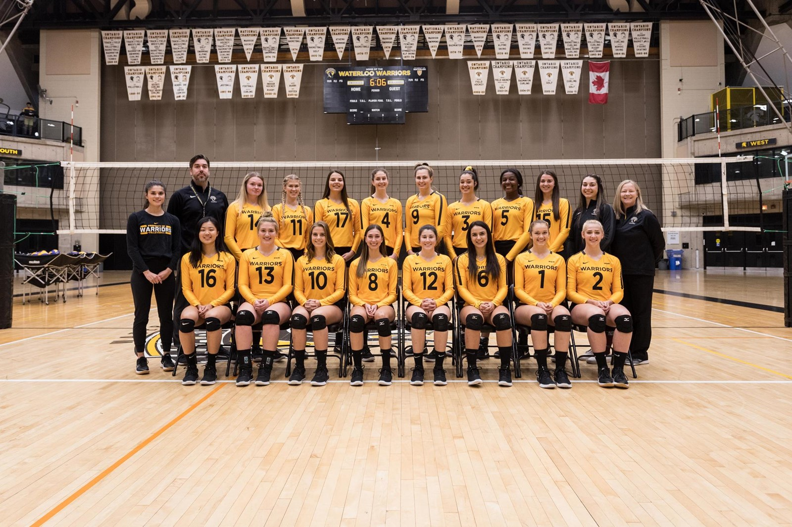 2019 20 Women S Volleyball Roster University Of Waterloo Athletics