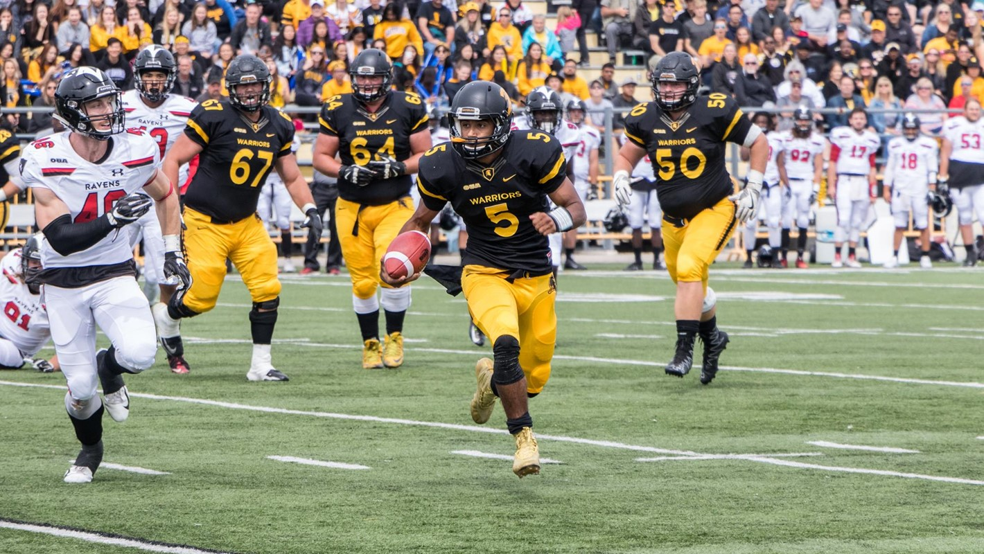 Football - University of Waterloo Athletics